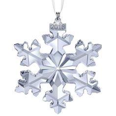 Swarovski Christmas Snowflake Ornament Annual Edition 2016 5180210
