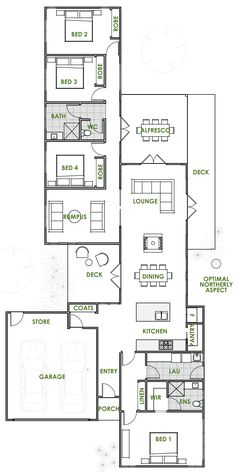 The Casia offers the very best in energy efficient home design from Green Homes Australia. Take a look at the floor plan here.
