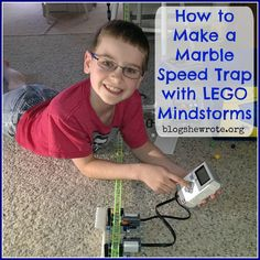 How to Make a Marble Speed Trap Using LEGO Mindstorms