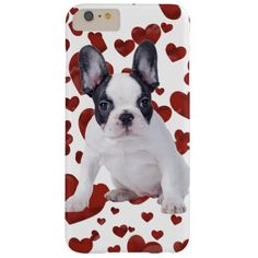 Frenchie love puppy barely there iPhone 6 plus case