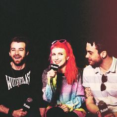 We love Paramore. Jeremy Davis, Paramore Hayley Williams, Taylor York, The Only Exception, Escape The Fate, Hollywood Undead, Music Pics, Falling In Reverse, Marina And The Diamonds