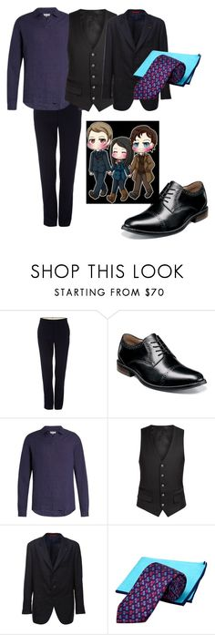 """""""Murder Family #2"""" by fandomislovefandomislife ❤ liked on Polyvore featuring Polo Ralph Lauren, Nunn Bush, Orlebar Brown, Diverso, Isaia, Ted Baker, men's fashion and menswear"""