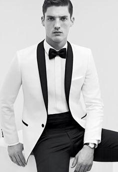 chic black & white
