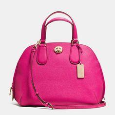 COACH Designer Handbags   Prince Street Satchel In Crossgrain Leather