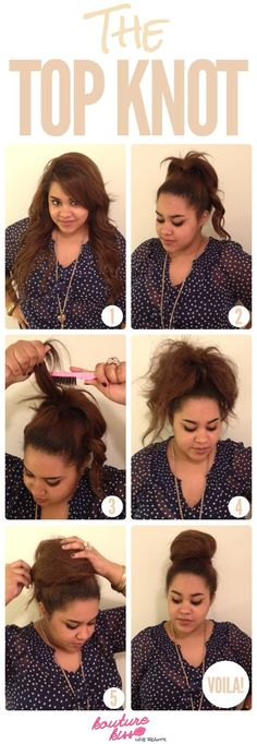 the highest knot haircut tutorial is a superb fashion in your hair. New hairstyles solely right here, discover your coiffure. Right here you could find hairstyles the highest knot haircut tutorial in Second Day Hairstyles, Curly Bob Hairstyles, Popular Hairstyles, Medium Hair Styles, Curly Hair Styles, Sleek Updo, Doll Hair, Layered Hair, Top Knot