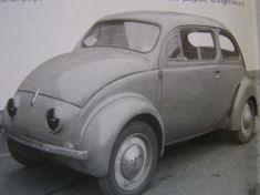 Renault 4 CV prototype.