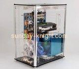 Transparent acrylic computer case mini pc box DBK-043