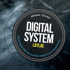 Cover for #techno album by #Laylae
