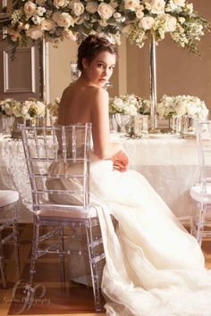 GeminiPhotographyOntario #blush #wedding soft romantic inspiration shoot at Queen's Landing - Niagara on the Lake - Featured on Vineyard Bride