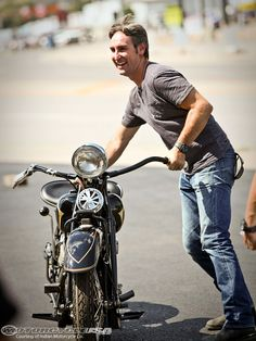 American Pickers Items for Sale | American Picker Mike Wolfe Indian Motorcycle enthusiast