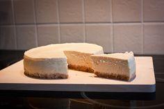 Recept voor cheesecake met vanille en citroen