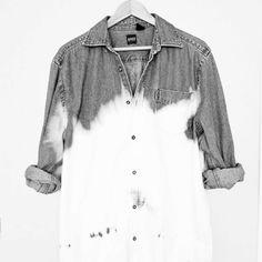 White wash shirt