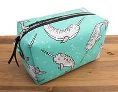 Narwhal Gifts  Narwhal Bag  Cosmetic Bag  Toiletry Bag