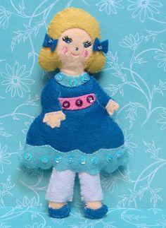 Spanish Chocolate Nutcracker Ballet Character Wool Felt ...
