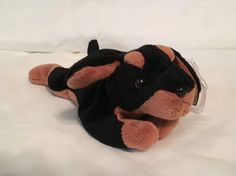 c0b3b917445 TY Beanie Baby - DOBY the Doberman Dog - Pristine with Mint Tags - PE  Pellets - Retired