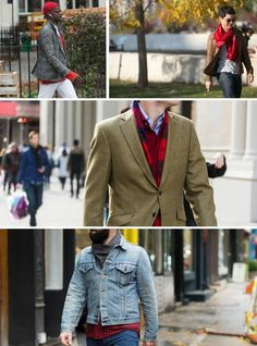 Street Style, Just the Details: Pops of Red