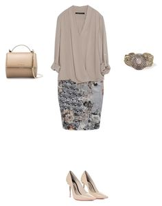 """Untitled #462"" by elenekhurtsilava ❤ liked on Polyvore featuring Givenchy, Zara and Sophia Webster"