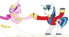 Princess Cadance and Shining Armour Dancing (3) by =90Sigma on deviantART