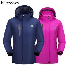 Facecozy 2019 New Spring Summer Men Women's Softshell Hiking Jackets Male Outdoor Trekking Camping Clothing for Climbing Fishing Camping Outfits, Camping Clothing, Windbreaker Jacket Mens, Hooded Jacket, Trekking Outfit, Outdoor Coats, Hiking Jacket, Hiking Gear, Hiking Boots Women