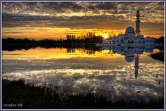 floating 'masjid'