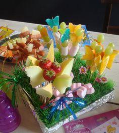 Beelden die mij inspireren. - Fruit bloemen. Kinder high tea  bij de Steinsetuin.nl