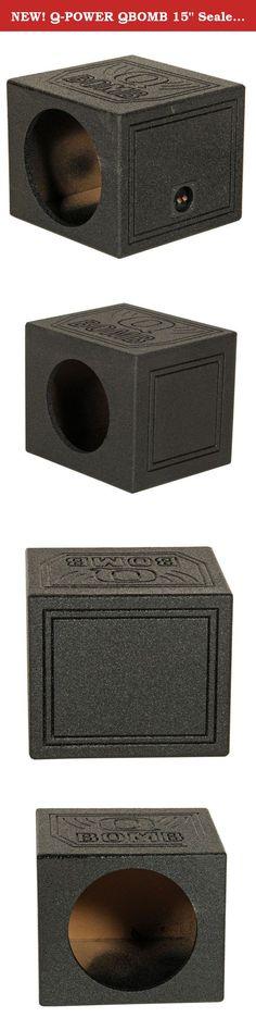 "Q Power Dual 12/"" Q Bomb Subwoofer Box for GMC//Chevy 14-16 4-Door Crew Cab Trucks"