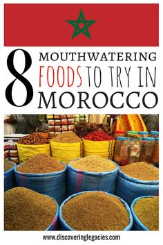 Morocco is full of familiar and oriental flavors, and there are so many things to try! See which ones you shouldn't miss by clicking the link to the blog post :)