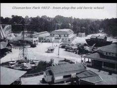 Vintage Clementon Amusement Park NJ Photos - Clementon Historical Commission - YouTube