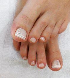 Unhas do Pé Decoradas 492,  #unhasbonitas #UnhasDecoradasSimples #UnhasLindas, French Manicure Designs, Pedicure Designs, Toe Nail Designs, Pretty Toe Nails, Pretty Toes, Painted Toe Nails, Nail Picking, Nails First, Colorful Nail Designs