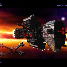 Babylon 5, Earth battle ship and Star Fury