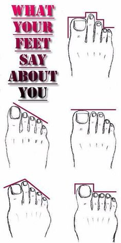 What your feet say about You - Fashion Is My Petition