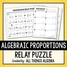 1000+ images about My TpT Store - All Things Algebra on ...