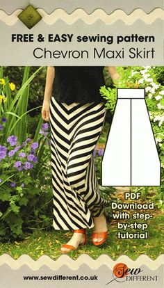 Maxi - FREE SEWING PATTERN tutorial for 2 hour top sewing patterntutorial for 2 hour top sewing pattern Skirt Patterns Sewing, Sewing Patterns Free, Free Sewing, Sewing Tutorials, Skirt Sewing, Pattern Sewing, Dress Tutorials, Vogue Patterns, Coat Patterns