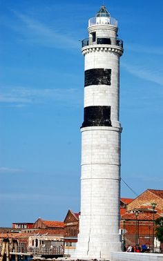 Murano Island Lighthouse Venice Italy by mbell1975, via Flickr