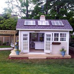 Solar garden shed  ******This is THE ONE*******