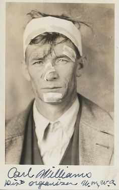 Carl Williams, UMWA District 19 organizer (Harlan County, Kentucky) (1934) by Penn State Special Collections Library via Flickr