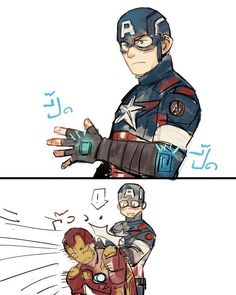 Cap's new shield magnet has some unexpected side effects