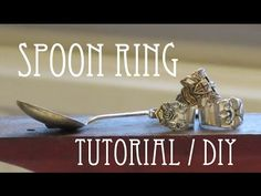 Spoon Ring - DIY Tutorial   Instructibles   victordoes