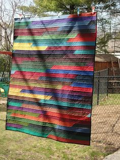Dark Jelly Roll...must make!!Quilt Matters: Quilt Gallery