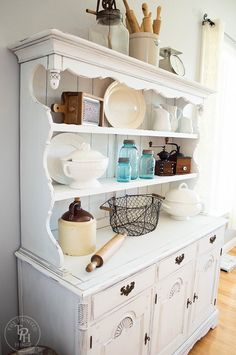 87 best china hutch refurbs images on pinterest furniture makeover