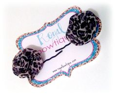 THE PERFECT TOUCH OF LEOPARD BY ROYAL BOWTiQUE. {www.facebook.com/royalbowtique}