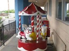 little merry go round - Outside of K-Mart stores