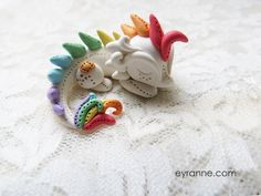 cute polymer clay dragon miniature figurine - cute polymer clay crafts for kids-f07637.jpg (800×600)