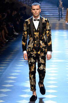 Dolce & Gabbana | Осень-зима 2017/2018 | Dolce & Gabbana | Подиум | Мода | Мужской журнал GQ