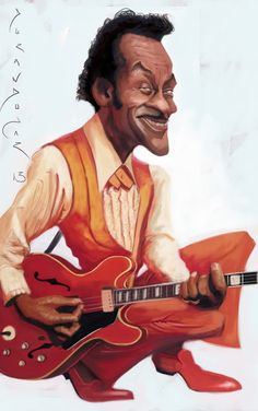 CHUCK BERRY B.I.P. Be In Peace Grateful For Your Legacy