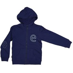 Leisure Hoodie - Navy / ebbe - Söt by Sweden