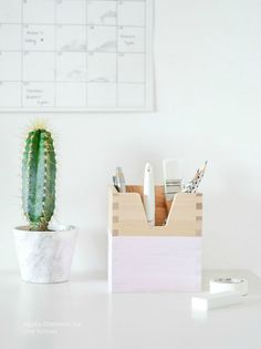 ikea hack - diy stationery box