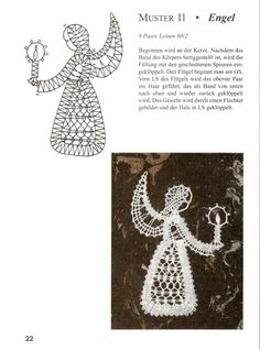 Gallery.ru / Фото #17 - Мелкие изделия - Polly-Polly Christmas Angels, Christmas Themes, Christmas Ornaments, Polly Polly, Bruges Lace, Bobbin Lace Patterns, Crochet Snowflakes, Lacemaking, Lace Heart