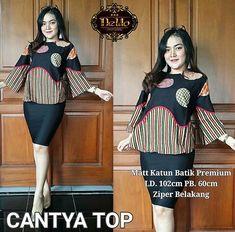 Beautifull batik blouse Batik print cotton All size fit XL Only Idr 115K