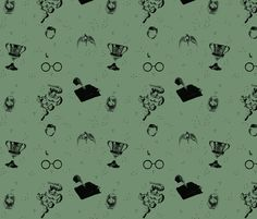 horocruxes fabric by bella_irae on Spoonflower - custom fabric